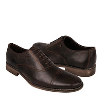 Stylo Zapatos Caballero Casuales 1442 Piel Moka