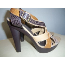 Zapatos Plataformas Verochi ***nuevas
