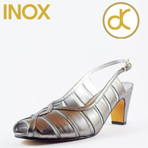 Zapato Piel Inox Marca David Corsaro