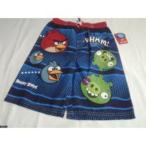 Angry Birds - Cars Traje De Baño Para Niño Talla 6-7