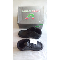 Zapato Militar Con Casquillo Tipo Bota Corta Marca Van Vien