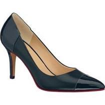Zapatos Cerrados Para Mujer Doble Ancho Azul 1075694 Hm4