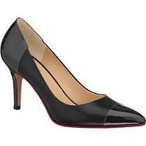 Zapatos Cerrados Para Mujer Doble Ancho Negro 2077284 Hm4