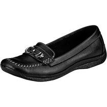 Zapato Piel Giio School E-156 Negro Oi