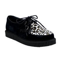 Zapatos Creepers Suela Baja Leopardo Y Zebra Creeper-600