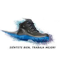 Zapatos Ergonómicos De Seguridad Industrial Salud Y Confort