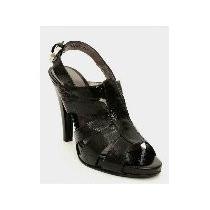 Zapatillas Color Negro. Crabtree De Piel. Núm. 4