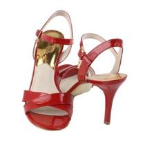 Envío Gratis Zapatillas Elisa Michael Kors 5.5 Mex Rojo