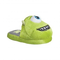 Pantufla Monsters Inc Niños Infantil Wazowski