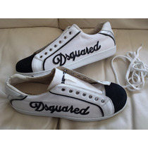 Sneakers Zapatos Dsquared2 100% Genuinos