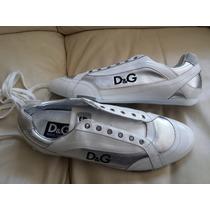 Sneakers Zapatos Dolce Gabbana Spider 100% Genuinos