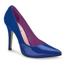 Zapatos Zapatillas Azules Andrea 2286280 Tacón 10cm