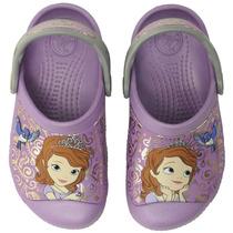 Crocs Sandalias Disney Princesita Sofia Con Relieve Original