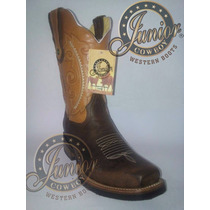 Bota Rodeo Miel/café Junior Cowboy Envió Gratuito.