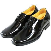 Zapatos De Piel En Charol Color Negro Marca Toto