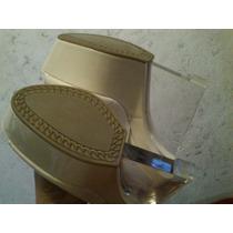 Venta Zapatillas Blancas De Charol No. 4 Andrea