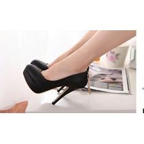 Zapatillas Negras Moda Japonesa Asiática Entrega Inmediata