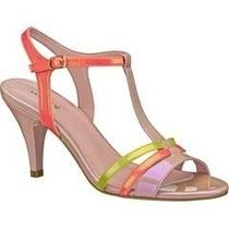 Sandalias Zapatos Zapatillas Andrea De Charol De Colores