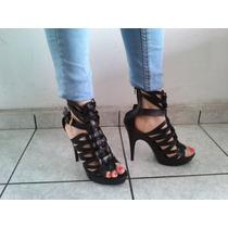Hermoso Zapatos De Tacon Excelente Calidad