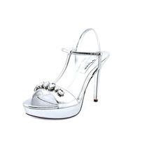 Nina Jada Sandalias De Vestir Zapatos De Cuero