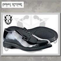 Zapatos De Vestir Oxford De Charol,original Marca Bates,army