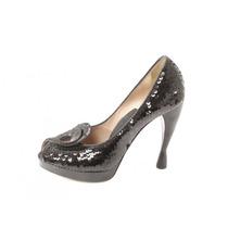 Zapatos Negros Emporio Armani