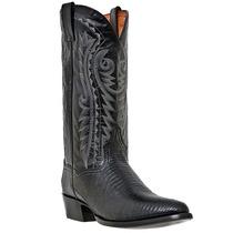 Dan Post Hombres Raleigh R Negro Lagarto Pie Boot Dp2350r