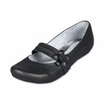 Zapato Escolar De Piel Color Negro Para Dama Del 23 Al 26.