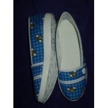 Zapato De Tela Comodo Para Mama No. 23