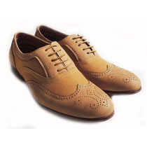 Zapato Mocasin Boston Oxford Wingtip Elegante Envio Gratis!
