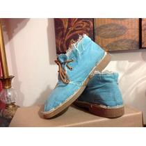 Zapatos Botitas Levis Hippies Casuales Deshilachadas Urbanas