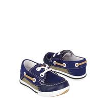 Lucho Zapatos Niños Casuales 661 12-14 Simipiel Azul
