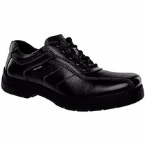 Zapatos Casuales Hush Puppies Piel Hb-9850 Negro Oi