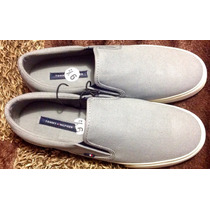 Tenis Casual Tommy Hilfiger Tipo Sperry Canvas.