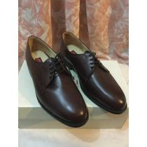 Zapatos Hombre Oxford Formal Café Nuevos Ortopédico