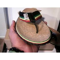 Bob Marley Sandalias Chanclas Huarache Rastas Reggae 7-13 Us