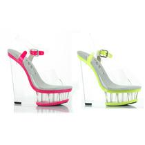 Zapatillas Ellie De Plataforma Detalles Neon 610-shana