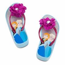 Sandalias Frozen Elsa Anna Original Disney Store Importado