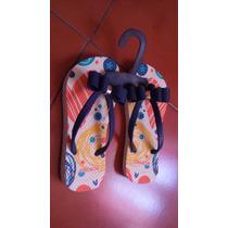 Sandalias Para Niña No. 18