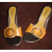 Sandalias Andrea Color Ocre