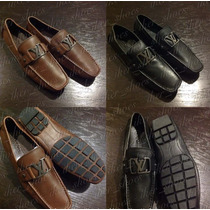 Zapatos Casuales Mocasines Ferragamo Gucci Louis Vuitton