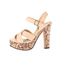 Luichiny Hermosas Sandalias Is A Bell Beige