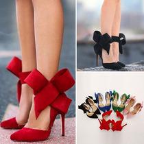 Zapatos Pumps Zapatillas Fiesta Boda Con Moño Moda Importada