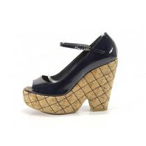 Zapatos Azules Chanel