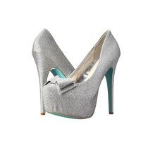 Zapatos Blue By Betsey Johnson Gala Plateado