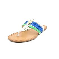 Tommy Hilfiger Liz Faux Leather Tangas Sandalias Zapatos