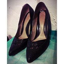 Zapatos Negros Clásicos Piel Ultra Femeninos
