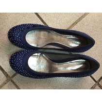 Remato Flats Zapatos Westies Azules