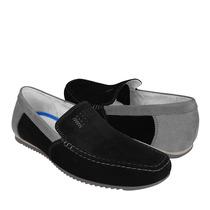 Flexi Zapatos Caballero Casuales 69901 Gamuza Negro