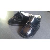 Zapatos Negros De Charol Nuevos!!! Para Bebe Baratos!!!!!